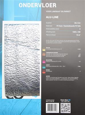 Ondervloer Alu-Line