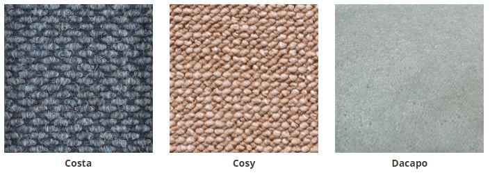 Bouclé tapijt