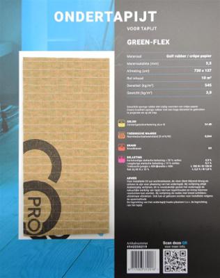 Green Flex ondertapijt