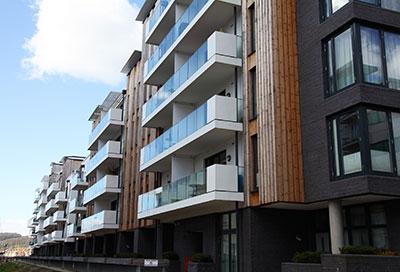 Korlok of Palio Core heeft 11dB demping dus geschikt voor appartementen