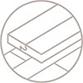 Designflooring Palio Core kan over oneffen ondergrond gelegd worden.
