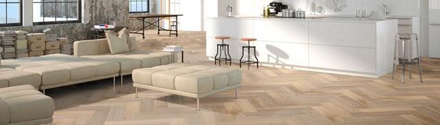 PVC vloer Therdex Herringbone 7001