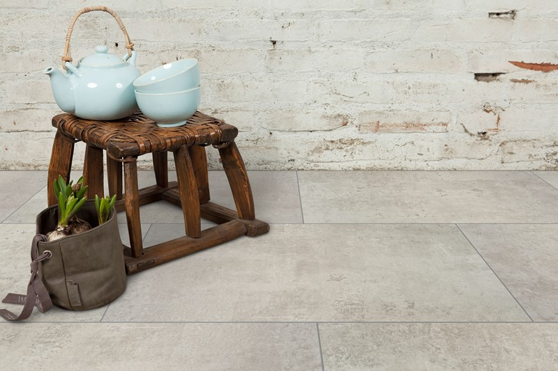 Vivafloors VS-1740 betonlook pvc tegels