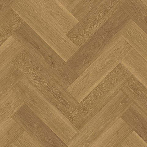 Visgraat Golden Brushed Oak