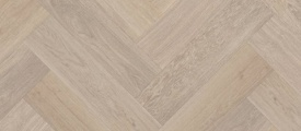 Visgraat Natural Brushed Oak