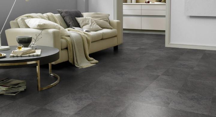 Pvc Vloer Donkergrijs : Designflooring rubens cumbrian stone st pvc vloeren