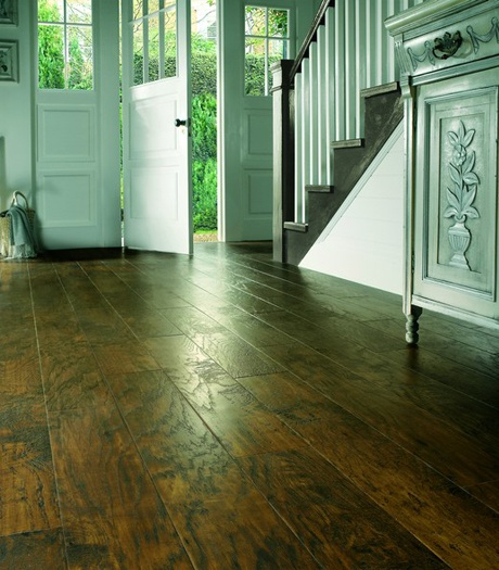 Designflooring Art Select Handcrafted Wood - Hickory Nutmeg