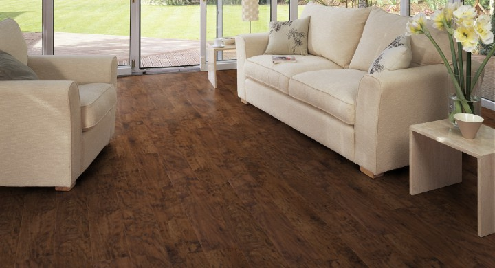 Designflooring Art Select Handcrafted Wood - Hickory Paprika