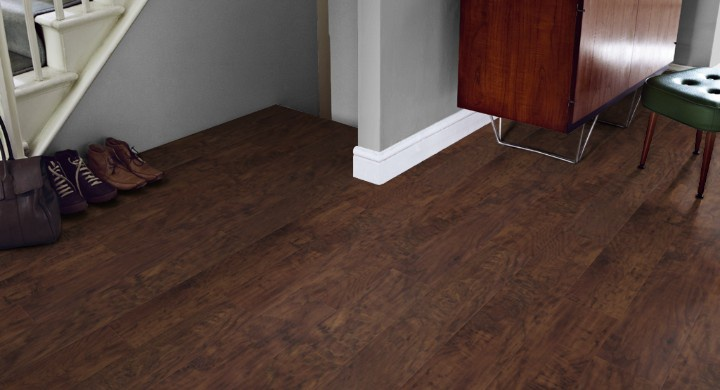 Designflooring Art Select Handcrafted Wood - Hickory Peppercorn