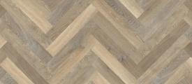 Designflooring Rubens Visgraat - Lime Washed Oak