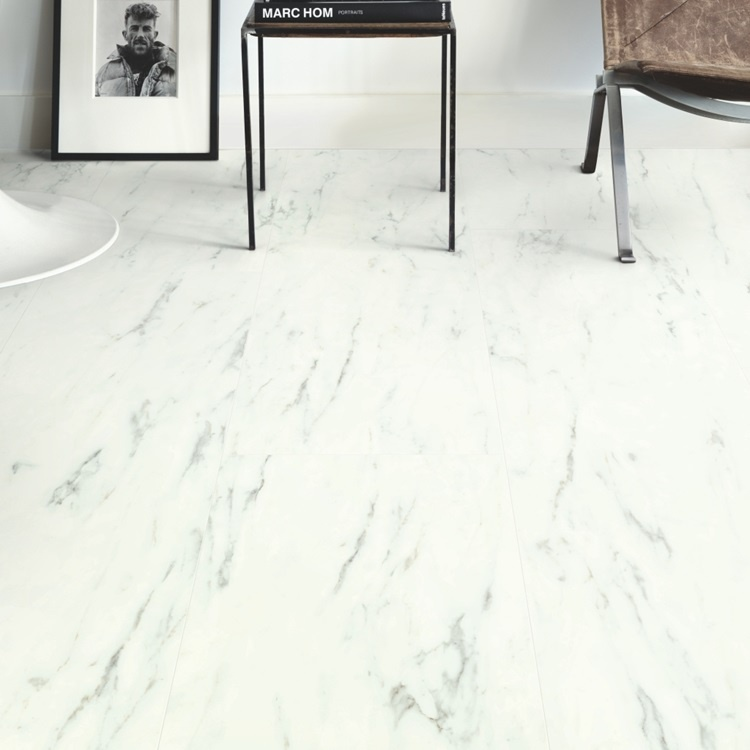 RAMCP40136 QuickStep Ambient Carrara Marmer Wit Rigid Click Plus